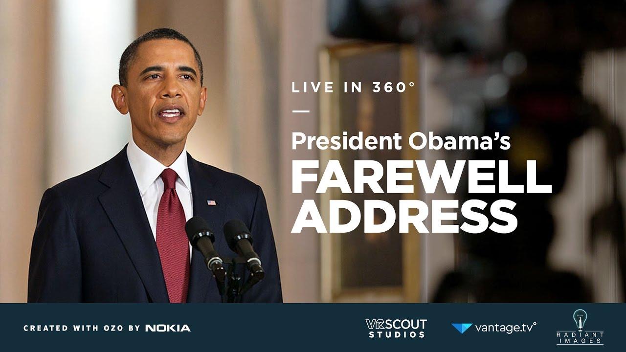 live chief executive obama speech