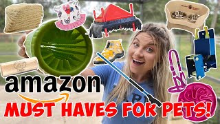 AMAZON MUST HAVES FOR ALL PET OWNERS 2020! For HORSES, DOGS, CHICKENS, PIGS, & COWS!