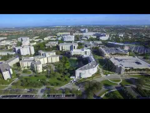 miami january aerial video of fiu florida international university established in loca   YouTube