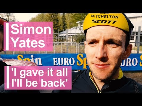 Simon Yates: 'I gave it all. I'll be back'