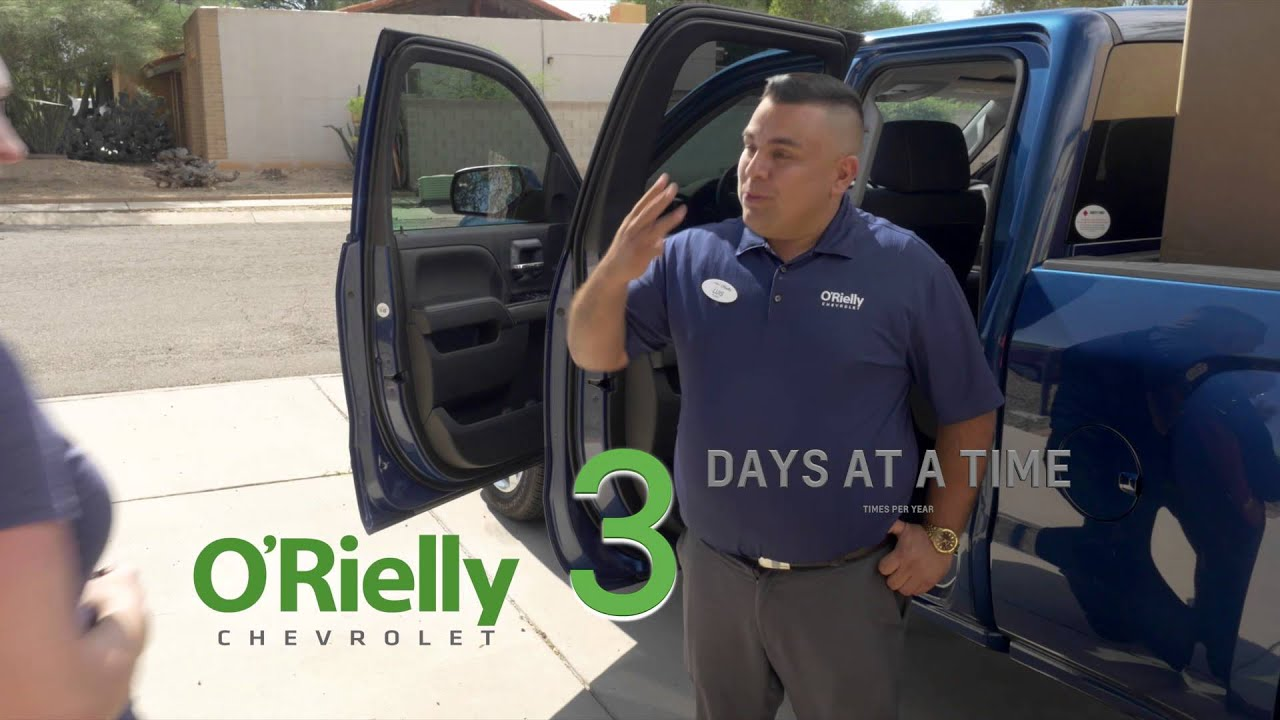 Buy a Car Get a Truck 4 - At ORielly Chevrolet Tucson AZ Your New ...