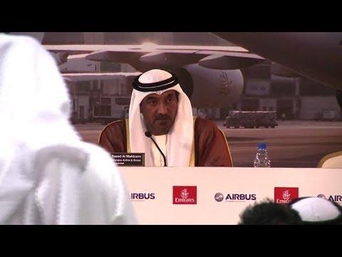 Dubaï: Emirates annonce une pluie de commandes