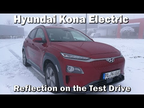 Reflecting on the Hyundai Kona Electric Test Drive