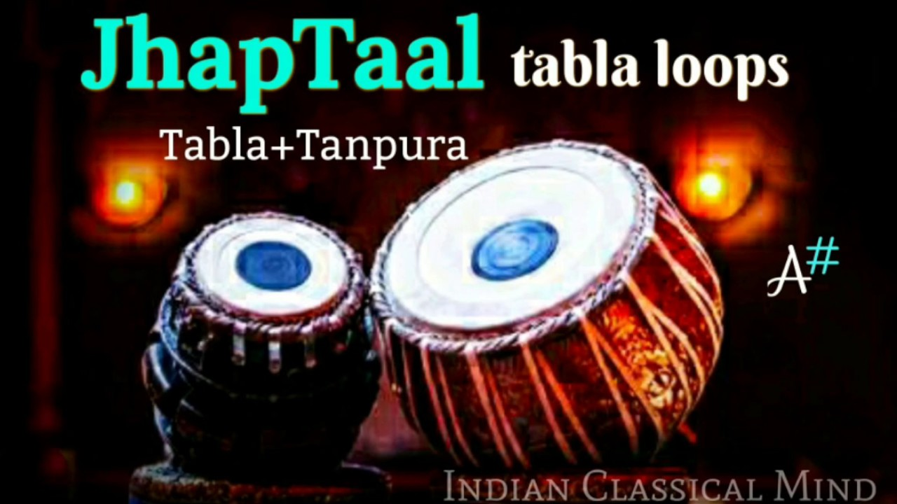 Jhaptaal Tabla Loops | taalmala | Taal Jhaptaal 10 beats for practice C#