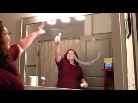 How to Clean a Mirror & The Butter Test: Norwex vs. Blue Stuff