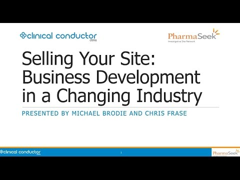 Selling Your Site: Business Development in a Changing Industry