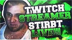 Twitch-Streamer stirbt live während 24h Stream!! 😱😱  (REACT TO) | xTheDon