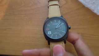 Часы Curren обзор, посылка с сайта eBay.com