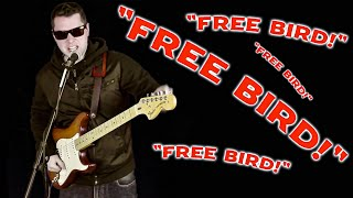 """Why Do People Yell """"FREE BIRD!"""" at Guitarists?"""