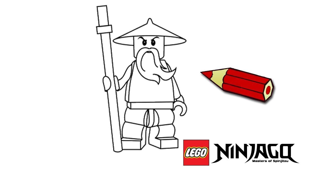 Lego Ninjago Nauka Rysowania Rysowanie Dla Dzieci Krok Po Kroku
