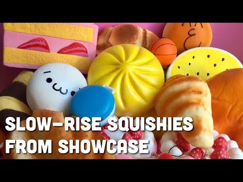 Showcase Squishies! Slow-Rise Squishy Package   Toy Tiny