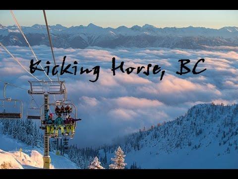 Kicking Horse Ski Resort an Epic Trip through Canada
