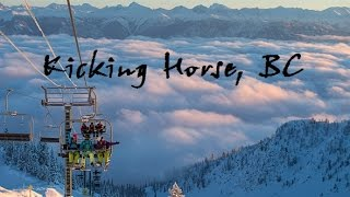 Ski Canada - Kicking Horse Ski Resort an Epic Trip through Canada