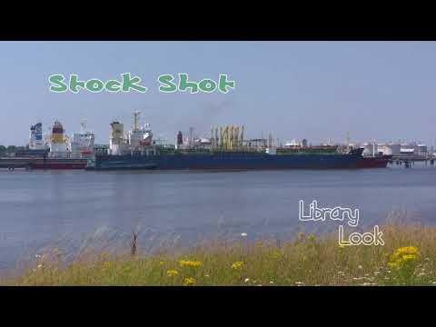 LibraryLook:  Europort Economics - Crude oil tanker berthed.