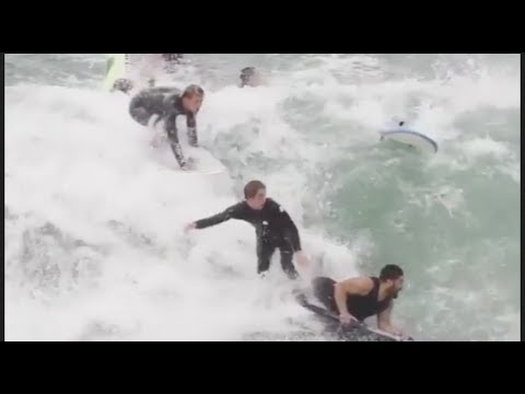 BEST SURFING WIPEOUTS - THE FUNNIEST SURF FAILS