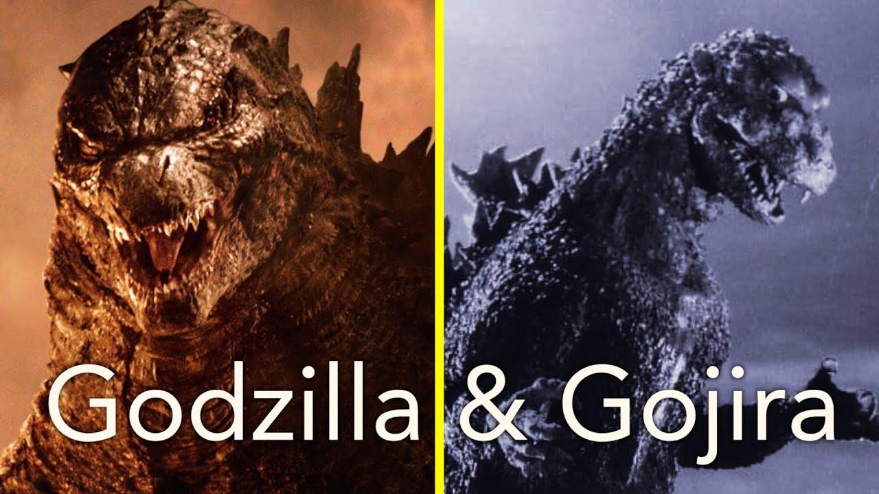 A Comparison: Godzilla & Gojira - YouTube