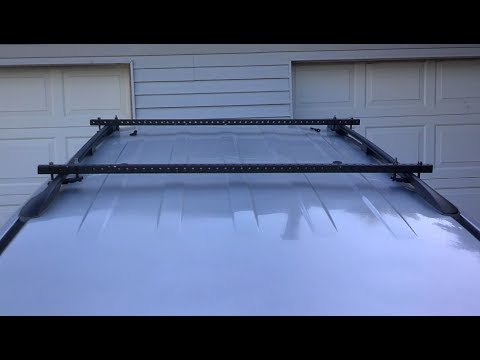 DIY SUV Roof Rack Cross Bars