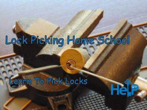 Lock Picking Home School