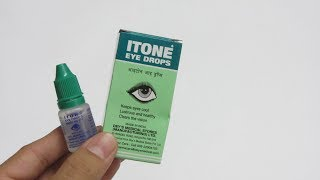 ITone Eye Drops For Eye Strain, Red Eyes, Tired Eyes, Dry Eyes, Itching And Burning Sensation