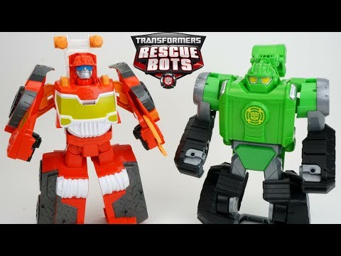 NEW Transformers Rescue Bots Heatwave Firetruck Boulder Digger and HUGE Collection!