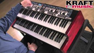 Kraft Music - Nord C2D Organ FULL Demo with Chris Martirano HIGH QUALITY!!!