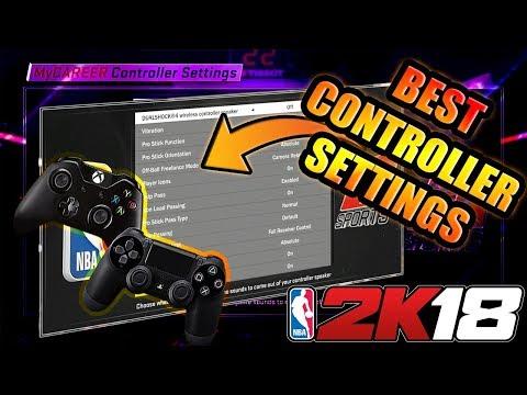 NBA 2K18 -  BEST CONTROLLER SETTINGS IN NBA 2K18