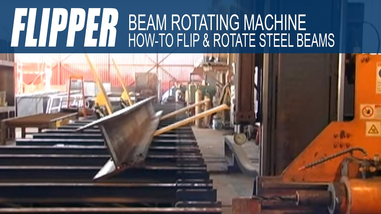 How To Flip Structural Steel Beams How To Rotate Steel