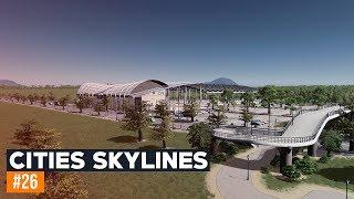 Stacja kolejowa   Cities Skylines 2019   #26