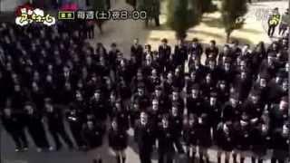 日本学生毕业典礼使用AKB48歌曲《Give me five》快闪感谢恩师