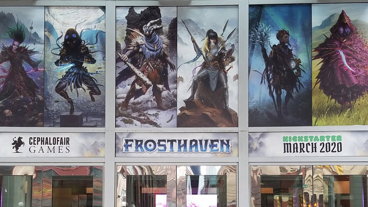 Games With Gold March 2020.Gloomhaven Sequel Called Frosthaven Was Announced