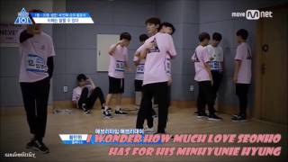 Video Who doesn't need a Seonho-hug? (Produce 101) download MP3, 3GP, MP4, WEBM, AVI, FLV November 2017