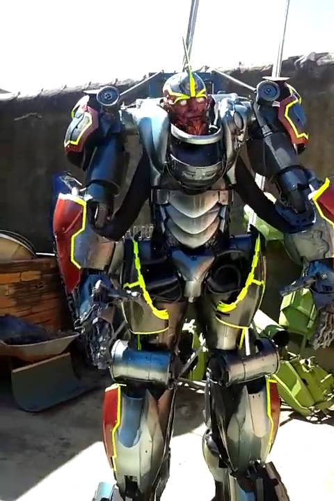 Super Robot Cosplay Youtube