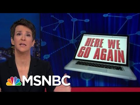 Russia Working Social Media To Manipulate American Voters (Again) | Rachel Maddow | MSNBC