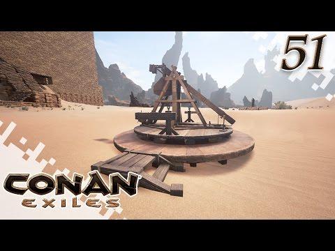 CONAN EXILES - Trebuchet! - EP51 (Gameplay)