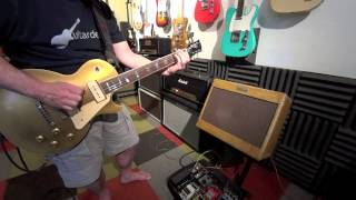 Tyson Tone P90s  Gibson Les Paul & 5E3 Tweed Deluxe - Slide Demo