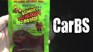 Alamo Candy Co. Gummy And Bloody Bears Review - CarBS