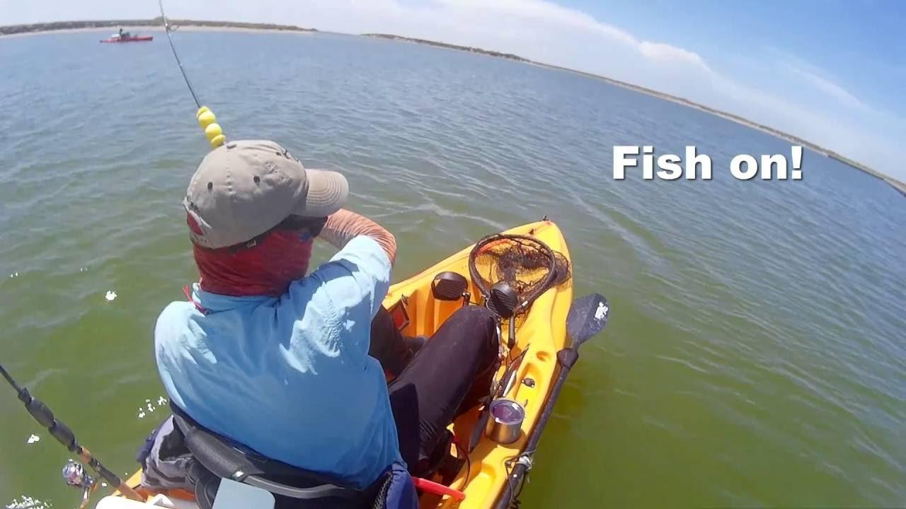 South texas kayak fishing trip 2 lower laguna madre youtube for South texas fishing