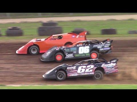 RUSH Crate Late Model Heat One | McKean County Raceway | 7-27-17
