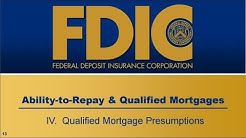 The Qualified Mortgage Presumptions