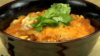 How to Make Katsudon (Pork Tonkatsu Rice Bowl Recipe) カツ丼 作り方レシピ