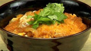 How To Make Katsudon (pork Tonkatsu Rice Bowl Recipe) カツ丼 作り方レシピ
