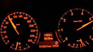 BMW X1 E84 2014年式 のフル加速です! 安全な私有地で撮影。コースの関...
