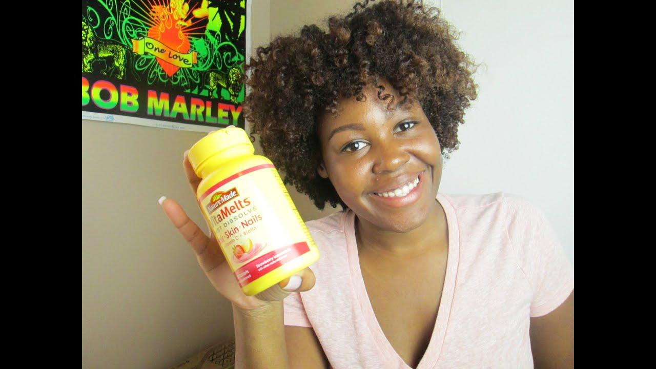 Nature Made Vitamelts Hair Skin & Nails Review - YouTube