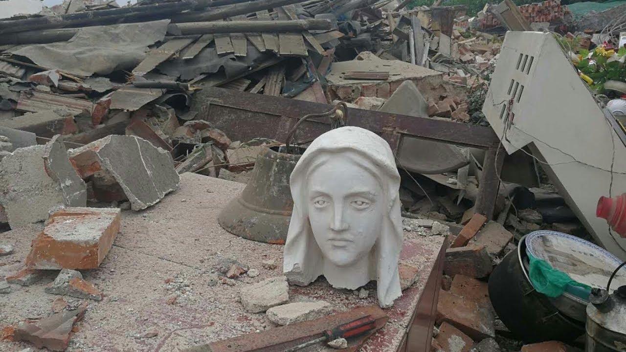 Giáo Hội Năm Châu 10/05/2019: Tượng Đức Mẹ bị chặt đầu ở Hà Nam, Trung Quốc