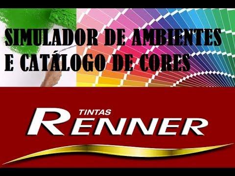 Tintas renner simulador de cores e cat logo online 2017 for Simulador de casas 3d gratis