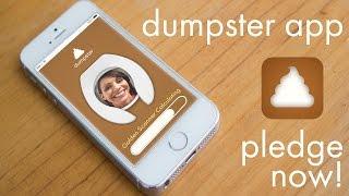 APPRIL FOOLS PRANK: DUMPSTER APP INDIEGOGO VIDEO