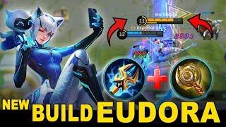 Download [UPDATE] New Build Eudora Yang Ini Sakit Banget 1 kali Combo Langsung Mati - Mobile Legends