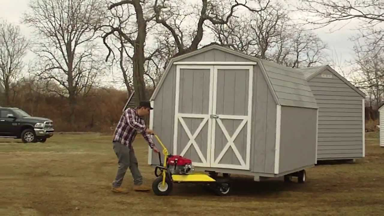 Marvelous Ny Shed Co Shed Mover In Action   YouTube