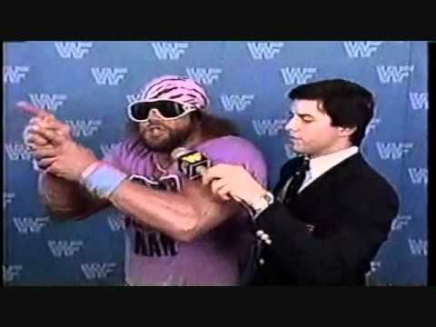 Why Randy Savage gave the best s ever