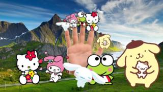 Hello Kitty Finger Family Collection in Chinese Language